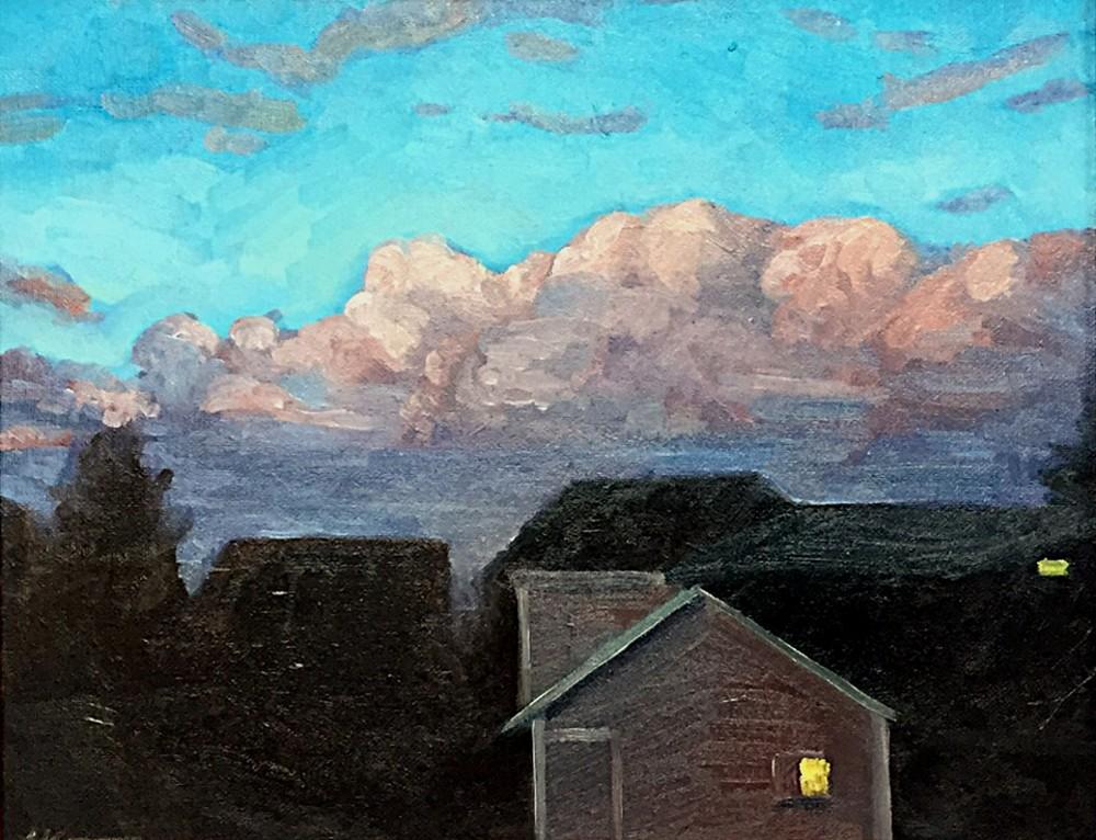 """Dusk - oil on canvas - 11x14"""""""