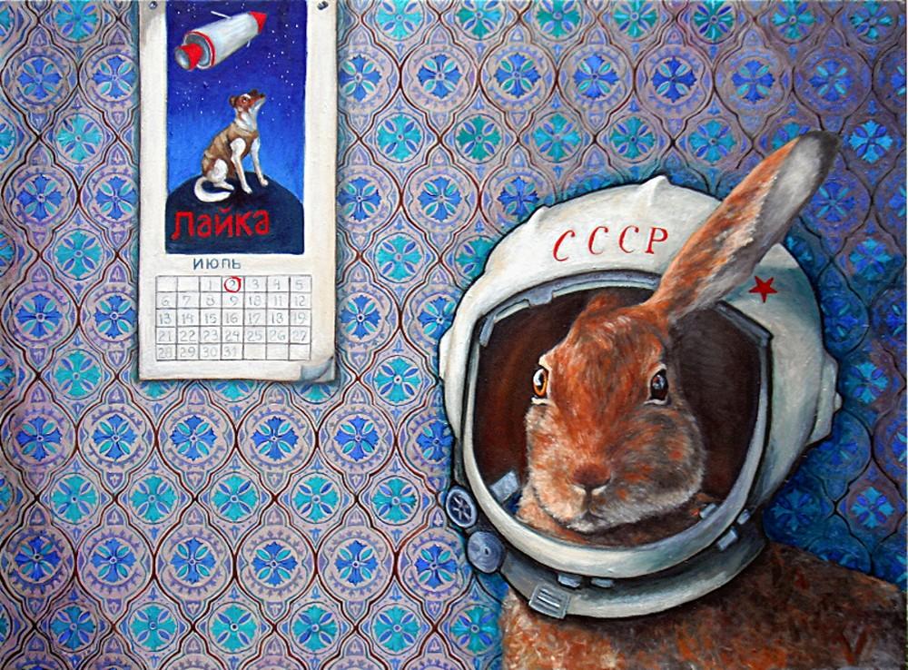 "Marfushka - oil on canvas - 36x48"""