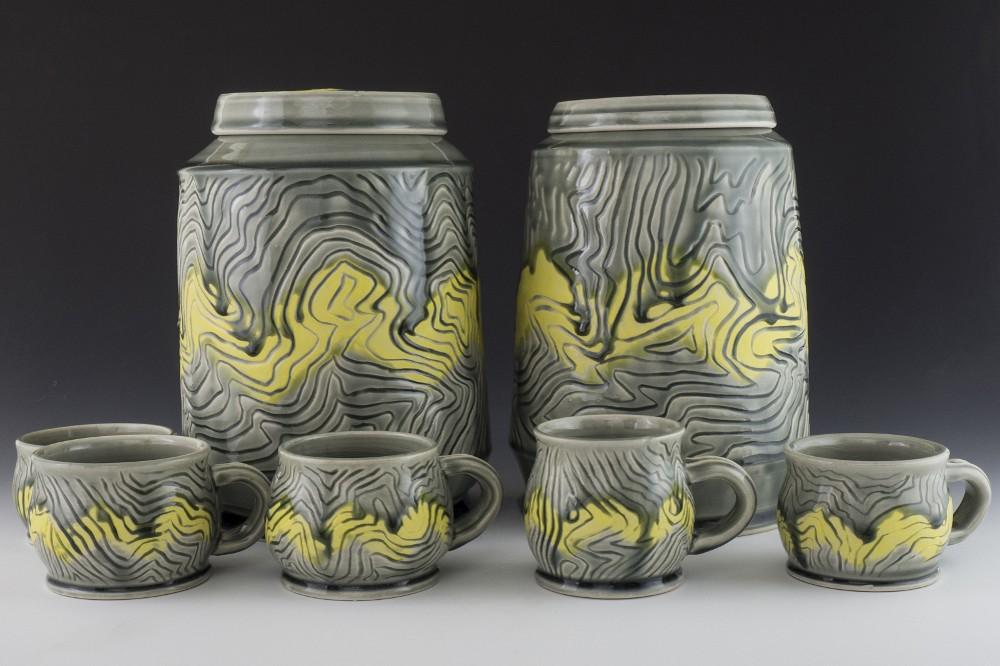 """Jars (10"""") and Mugs - 2016"""