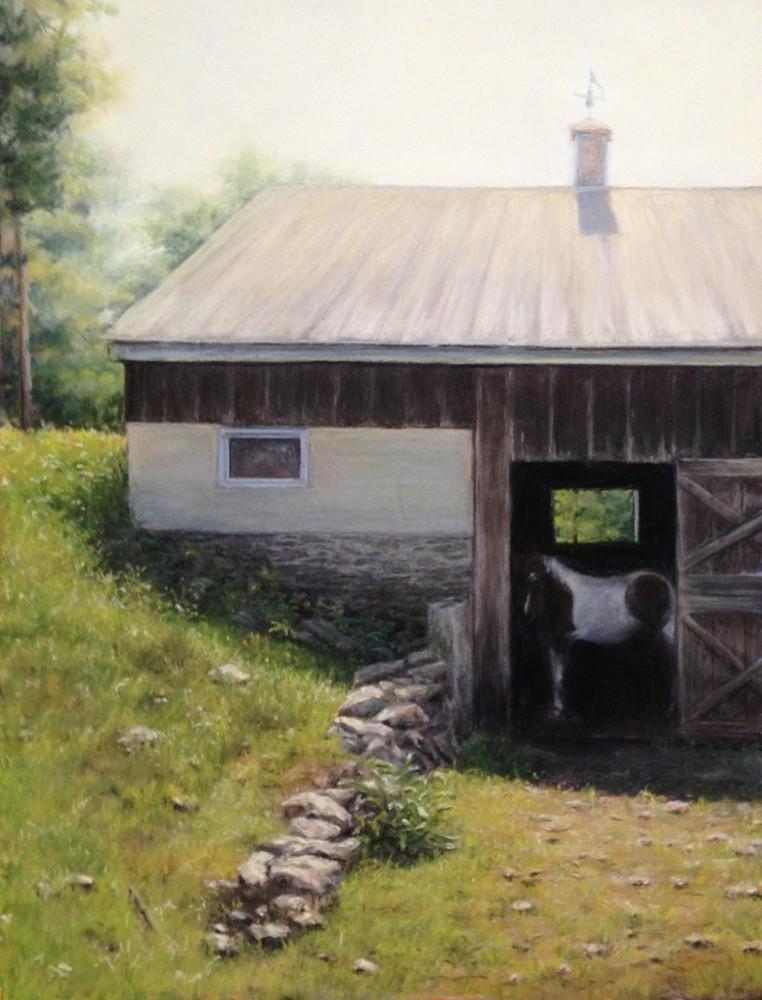"""Aldie Creek Farm""- pastel - 12x16"""