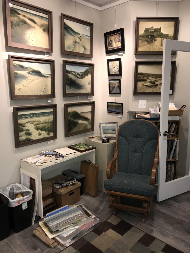 Inside my home studio